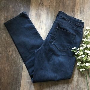 J Jill | Dark Wash Straight Leg Jeans